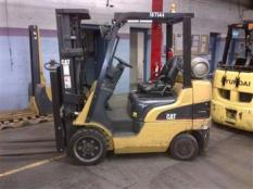 Forklift Friday - CAT C5000