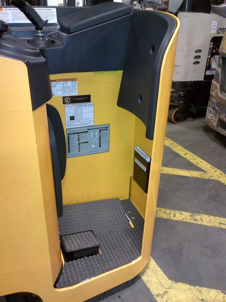 Sit Down Fork Lift Controls : Jungheinrich etg electric cushion forklift review