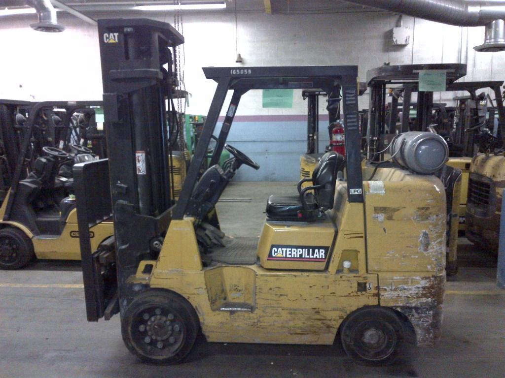 165059_CAT GC45K-SWB IC Cushion Forklift | Ohio Warehouse